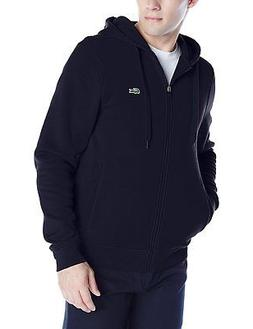Lacoste Men's Sport Full Zip Brushed Fleece Hooded Sweatshir