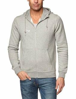 Nike Men's Sportswear Club Fleece Full Zip Grey Hoodie  M/L/