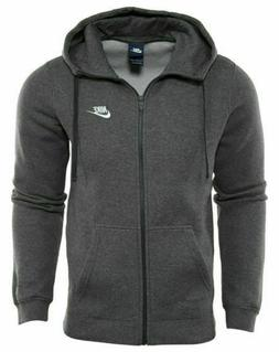 Nike Men's Sportswear Club Full Zip-Up Hoodie, Men's M, 8043