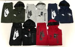 Nike Men's Sweat Suit Brand New Full Zip Hoodie + Joggers Co