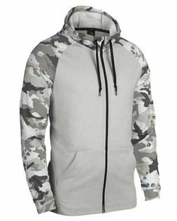 Men's Nike Tech Camo Dri-Fit Full-Zip Hoodie Jacket AQ1138 0