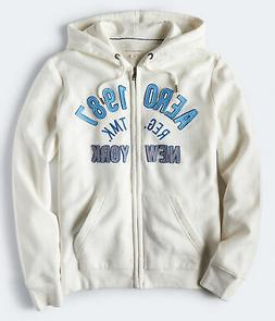 aeropostale mens aero 1987 new york full-zip hoodie