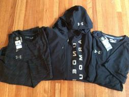 Under Armour Men's Coldgear Hoodie Full Zip Jacket XL Heat