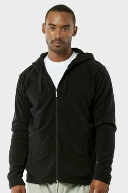 Men's Fleece Hoodie Full Zip Up Polar Jacket Hooded Sweats