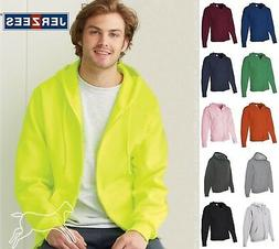 JERZEES Mens Hoodie NuBlend Full Zip Hooded Sweatshirt 993MR