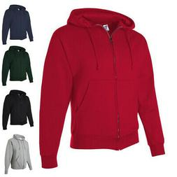 JERZEES Mens NuBlend SUPER SWEATS Full-Zip Hoodie Sweatshirt