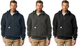 Carhartt Mens Rain Defender Paxton Heavyweight Zip Mock Hood