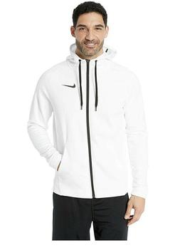 Mens Size L Large Tall Nike Dri Fit Full Zip Hoodie Athletic