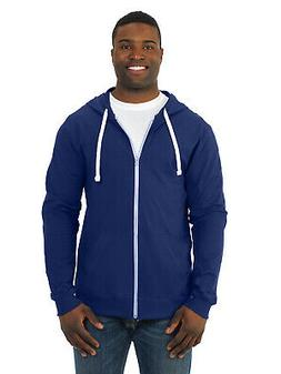 Fruit Of The Loom Mens Sofspun Jersey Full-Zip Hoodie