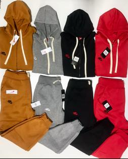 NIKE SWEATSUIT ZIP UP COMPLETE SET HOODIE AND JOGGERS FAST +