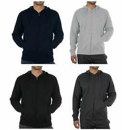 RUSSELL ATHLETIC Mens Zip Through Hoodie Many Colors Sz S M