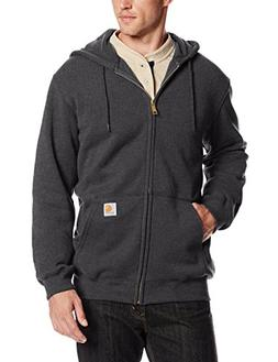 Carhartt Men's Midweight Zip Front Hooded Sweatshirt K122, C