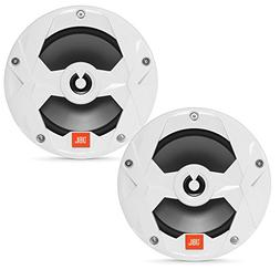 JBL MS65W Marine 6.5 Inch Two-way Speakers - Pair, White
