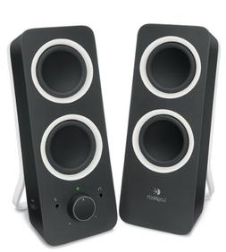 Logitech Multimedia Speakers Z200 with Stereo Sound for Mult