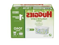 Huggies Natural Care Baby Wipe Refill, Fragrance-Free, Hypoa