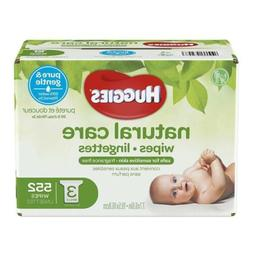 HUGGIES Natural Care Hypoallergenic Unscented Baby Wipes Sen