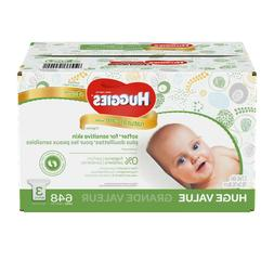 Huggies Natural Care Unscented Baby Wipes Refills, Sensitive