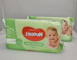 Huggies Natural Care w/ Aloe Vera Unscented Baby Wipes Soft