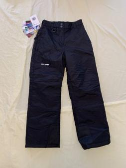 New Arctix Insulated Snow Pants - Girl/Boy Black - Youth Sma