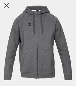 new rival fleece full zip hoodie size