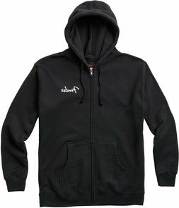 NEW Fender Spaghetti Logo Zip Hoodie, BLACK - CHOOSE YOUR SI
