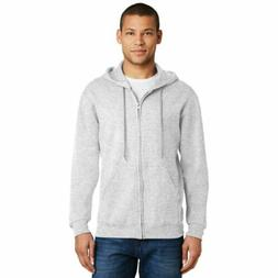 JERZEES NuBlend Full-Zip Up Hoodie Solid Soft Pill Resist Ho