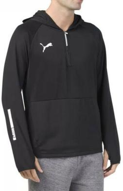 NWT Puma Men's Tec Sports Workout Half Zip dryCELL Hoodie Si