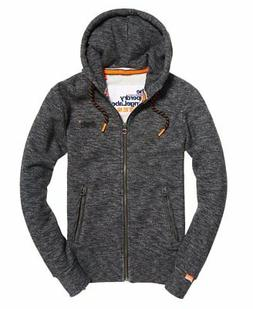 NWT Superdry Orange Label Zip Hoodie Hyper Pop Sweatshirt dr