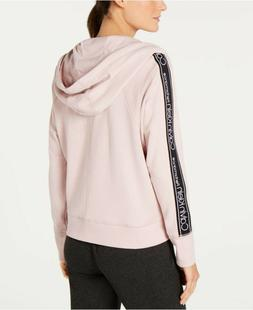NWT Calvin Klein Performance Women's Pink Full Front Zip Fit