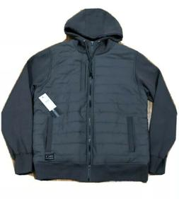 """O'NEILL """"Shibuya Quilted Hoodie"""" Men's M Gray Zip Jacket"""
