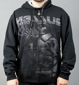 ON SALE !!!! THE GENERAL Zip Hoodie for Men by Sullen - Smal