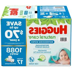 Huggies Refreshing Clean Baby Wipes, Disposable Soft Pack