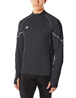Champion Men's Performax 1/4 Zip Jacket, Black, Small
