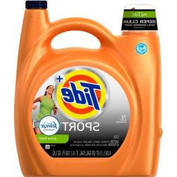 Tide Plus Febreze Sport Active Fresh Scent HE Turbo Clean Li