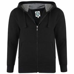 KAM POLY COTTON FULL ZIP HOODED SWEAT SHIRT IN SIZE 2XL-8XL,