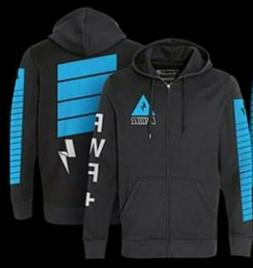 Power By Lachlan Full Zip Blue Lightning Hoodie Youtube Fort