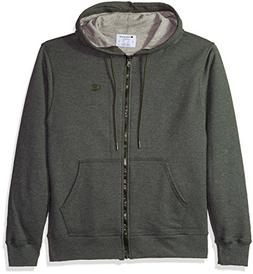 Champion Men's Powerblend Fleece Full-Zip Hoodie, Forest Gro