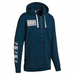 PUMA Rebel Bold Men's Fleece Full Zip Hoodie Men Sweat Basic