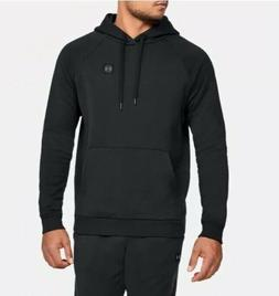 Under Armour Rival Mens Training Hoody Black Soft Fleece Gym