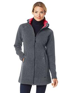 Outdoor Research Women's Salida Long Hoodie, Pewter, X-Large