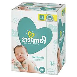 Pampers Sensitive Water-Based Baby Diaper Wipes, 9 Pop-Top T
