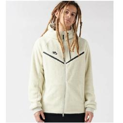 Nike Sherpa Windrunner Full-Zip Hoodie Men's Natural / Off W