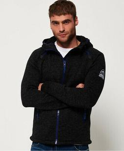 Superdry Mens Storm Double Zip Hoodie
