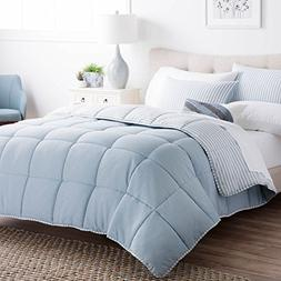Brookside Striped Chambray Comforter Set - Includes 2 Pillow