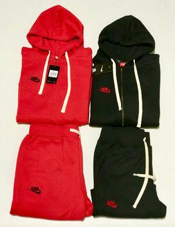 NIKE SWEAT SUIT ZIP UP HOODIE AND JOGGERS COMPLETE SET JOGGE