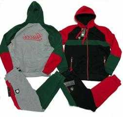 Gucci Sweatsuit Men's Top & Bottom Hoodie + Sweat Pants Full