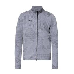 Nike Tech Fleece GX 1.0 Grey/Black Jacket Hoodie Full Zip Si