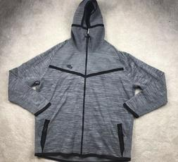 Nike Tech Knit Windrunner Cool Grey Black Full Zip Hoodie 72