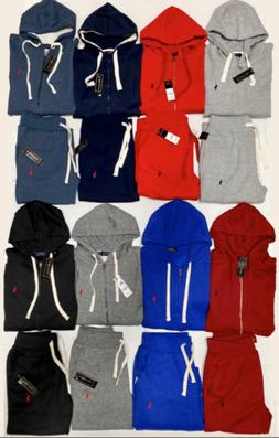 Polo Ralph Lauren Top And Bottom Zip Up Hoodie Sweat Suit Br
