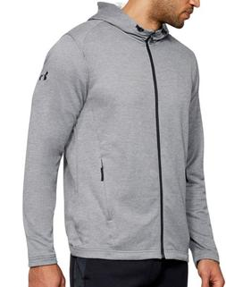 Under Armour UA Mens French Terry Tech MK-1 Full Zip Hoodie